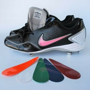 Nike Men's Baseball Cleats Gamer Black Size 14